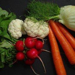 Hot n' Sweet pickled Vegetables by CravingSomethingHealthy.com