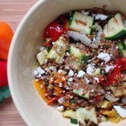 Grilled Vegetable Salad with Wheat Berries