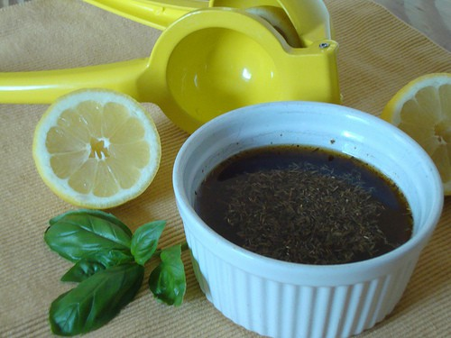 Lemon Herb Marinade for Fish, Chicken or Vegetables|Craving Something Healthy