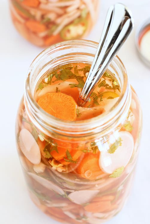 Pickled Vegetables Mexican Style Craving Something Healthy