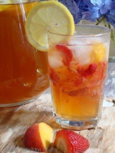 Iced Sun Tea With Fruit|Craving Something Healthy