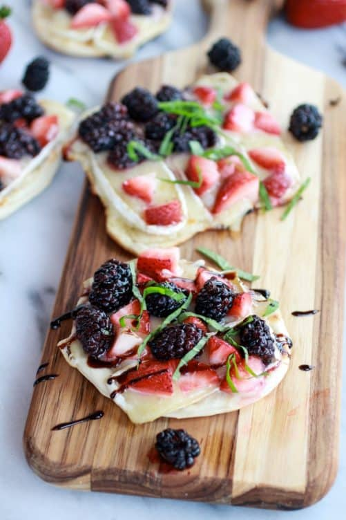 Grilled Pizza Crisps, Healthy Party