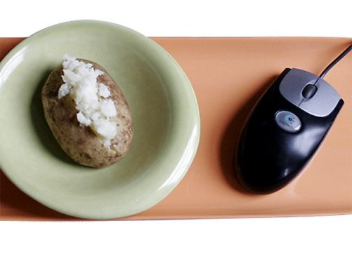 baked-potato portion size