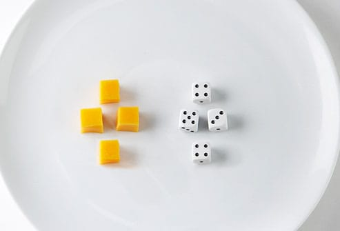 cheese portion size