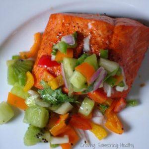 1…2..3 Steps To Fruit Salsa