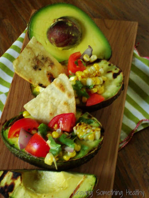 Grilled Stuffed Avocado Salads|Craving Something Healthy