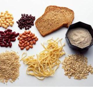 Whole grain starches