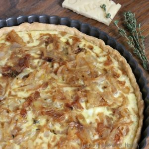 Montasio Sweet Onion Tart
