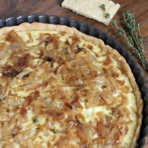 Montasio Sweet Onion Tart
