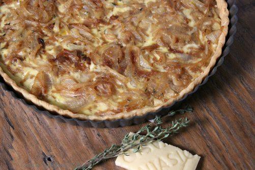 Montasio and Sweet Onion Tart