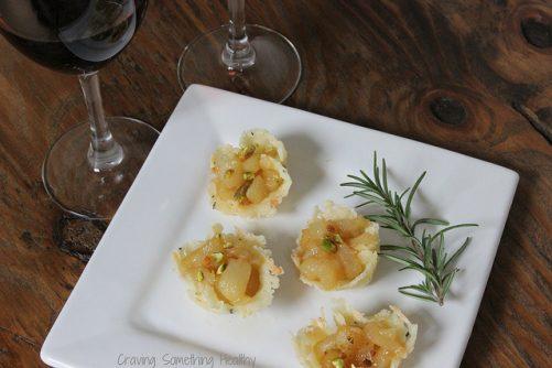 Montasio-Pear Tartlets Craving Something Healthy