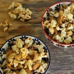 World Series-Worthy Apple Caramel Corn
