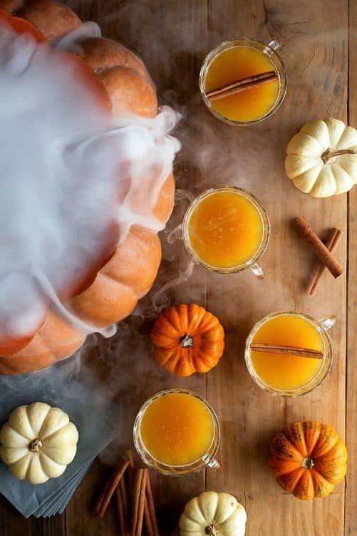 Halloween Pumpkin Punch Honestly Yum