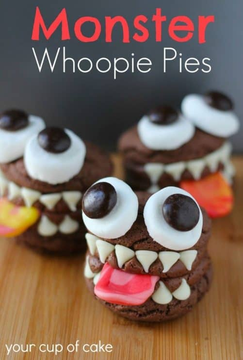 Monster Whoopie Pies Your Cup of Cake