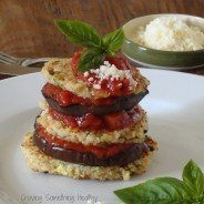 Grilled Eggplant Quinoa Stacks|Craving Something Healthy