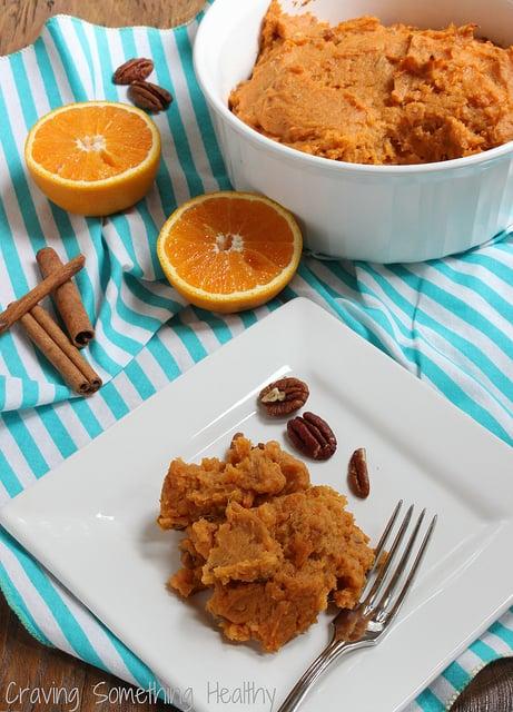 Sweet Potato Soufflé|Craving Something Healthy