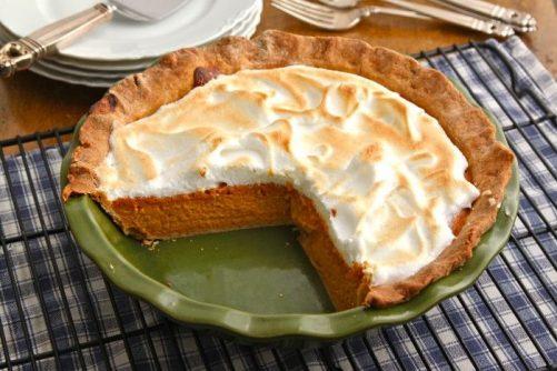 Pumpkin Meringue Pie|The Corner Kitchen