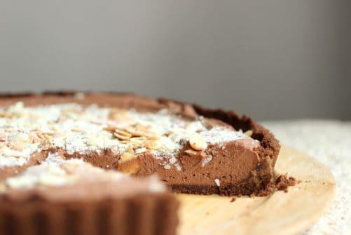 Chocolate Mint Mousse Pie|Vintage Kitchen Notes