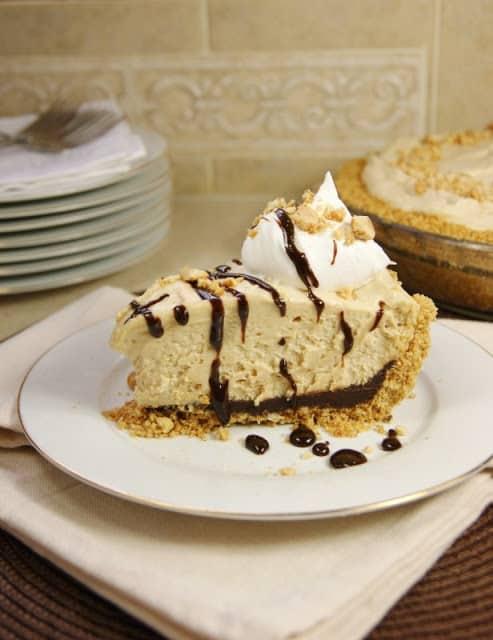 Black Bottom Peanut Butter Icebox Pie|The Kitchen is My Playground