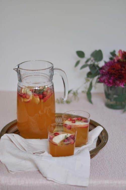 Apple Cider Sangria|Glitter Guide