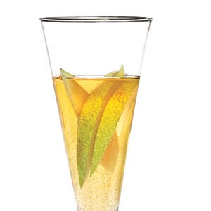 Sparkling Pear Cocktail|Cooking Light