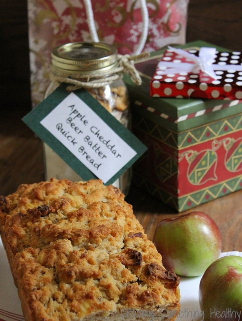 Apple Cheddar Beer Batter Bread|Craving Something Healthy