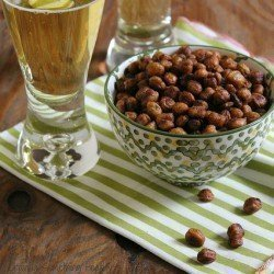 Spicy Southwest Roasted Chickpeas Craving Something Healthy
