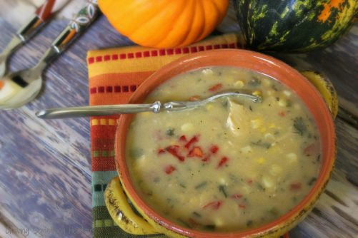 Chicken and Corn Chowder Craving Something Healthy