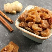 Spiced Candied Ginger|Craving Something Healthy