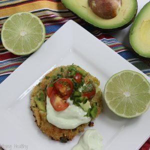 Avocado Quinoa Cakes {Meatless Monday}