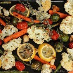 Lemon Thyme Roasted Vegetables