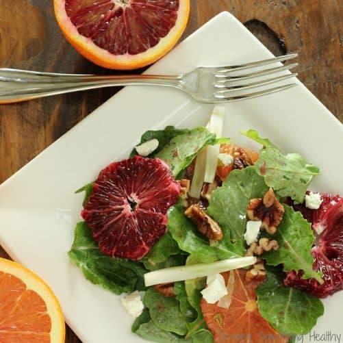 Kale Blood Orange and Fennel Salad