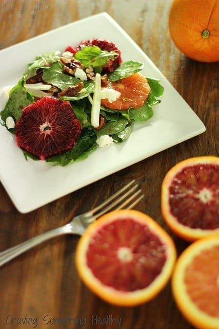 Kale Blood Orange and Fennel Salad|Craving Something Healthy
