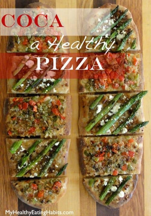 Coca Pizza|My Healthy Eating Habits