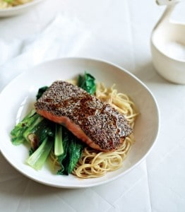 Chia Crusted Salmon|Crave By Random House