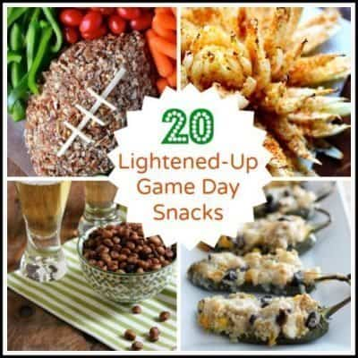 Lightened-Up Game Day Snacks