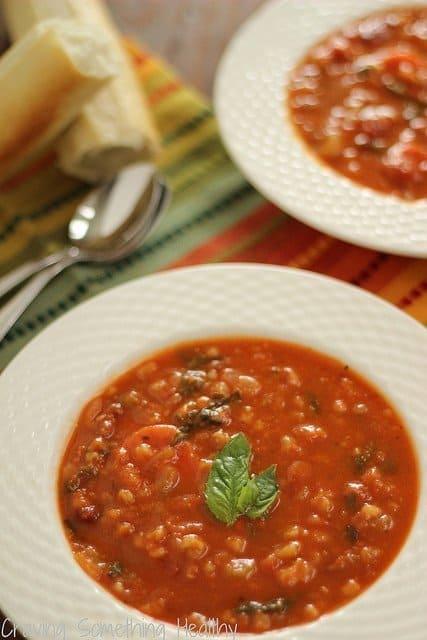 Pasta e Fagioli {Meatless Monday}