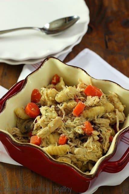Light Chicken Mushroom Stew