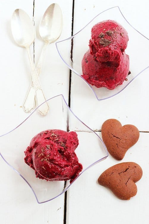 Merlot Berry and Dark Chocolate Sorbet|Craving Something Healthy