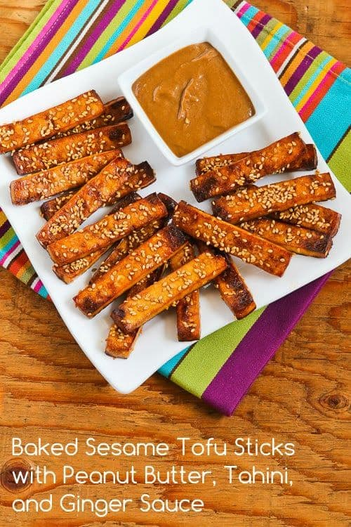 Baked Sesame Tofu Sticks|Kalyns Kitchen