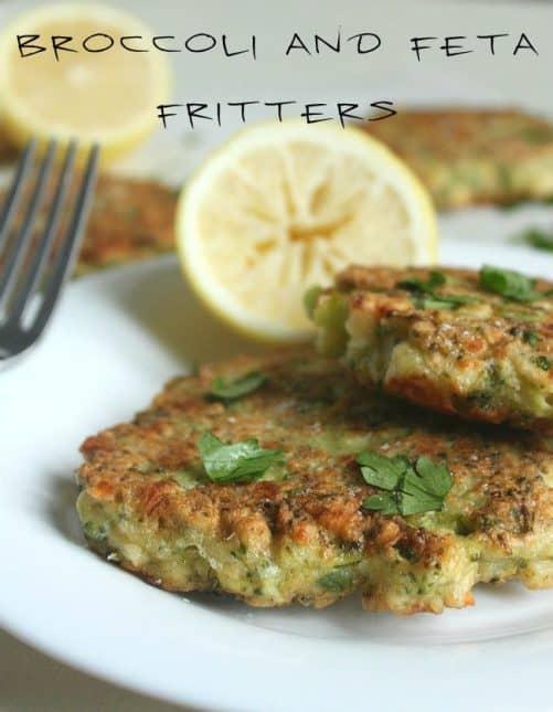 Broccoli Feta Fritters Amuse Your Bouche