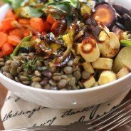 Warm Lentil Salad|Craving Something Healthy