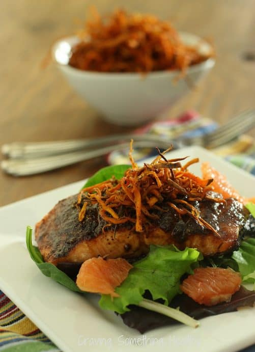 Sweet Chipotle Grilled Salmon Craving Something Healthy