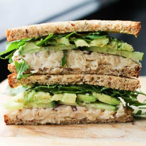 Smashed White Bean and Avocado Sandwich Culinary Colleen