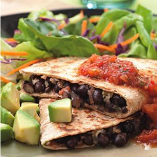 Black Bean Quesadillas Eating Well