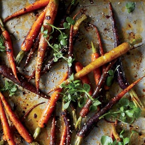 Chipotle Roasted Baby Carrots|Food and Wine