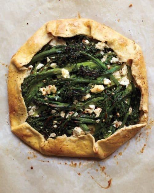 Broccolini and Feta Galette Martha Stewart