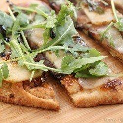 Pear Prosciutto Arugula Pizza Craving Something Healthy