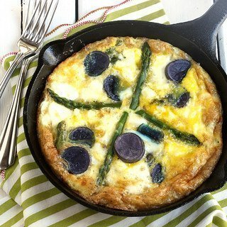 Spring Vegetable Frittata|Craving Something Healthy