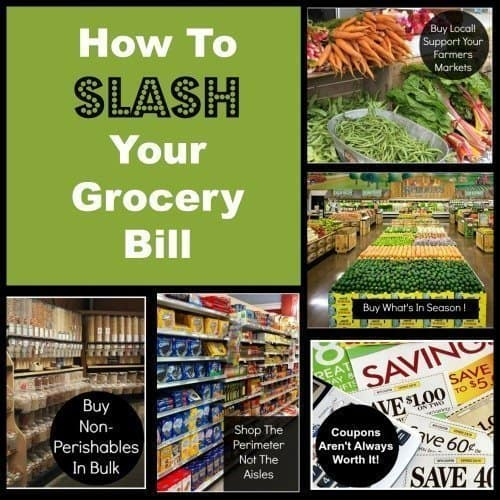 5 Ways to Slash Your Grocery Bill